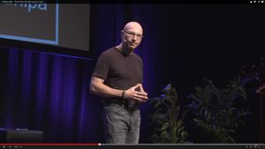 Watch Winfired's inspiring talk at TEDxKurilpa 2014