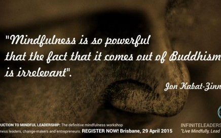 Introduction to Mindful Leadership - Brisbane Event - REGISTER NOW!