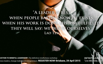 Introduction To Mindful Leadership - Register Now!